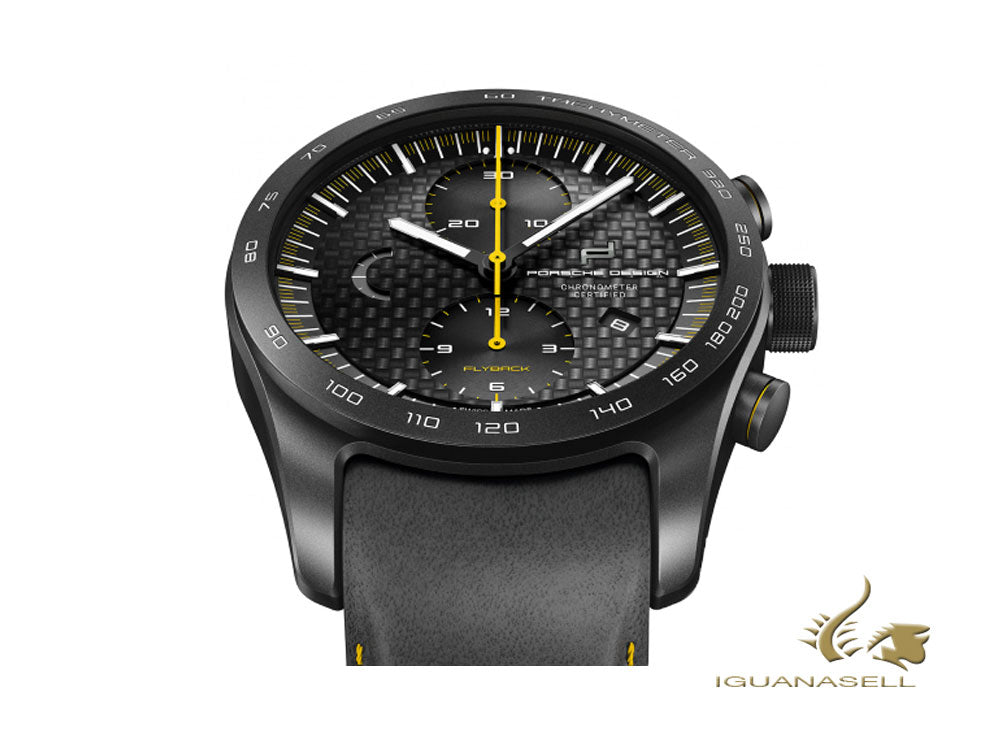 Reloj Automático Porsche Design Chronotimer Series 1 Flyback Racing Yellow