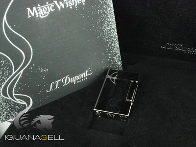 Encendedor S.T. Dupont Magic Wishes, Laca, Adornos en paladio, Edición Limitada