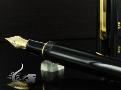 Estilográfica Sailor King of Pens Ebonite Gold, Negro, Oro 24K, 11-7002