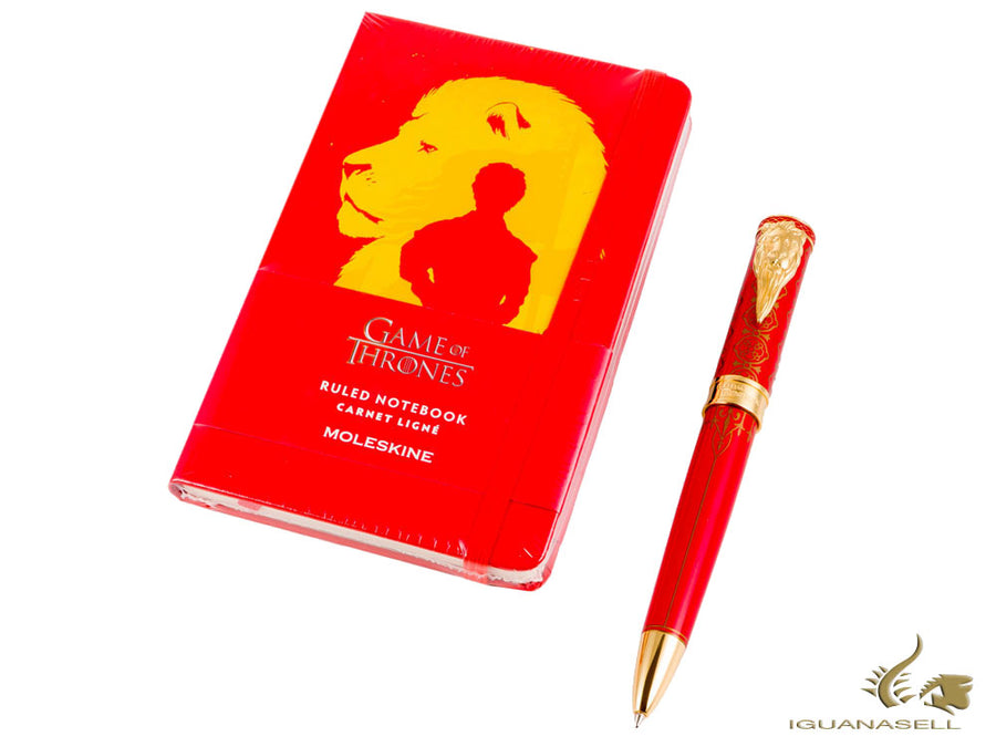 Set Bolígrafo Montegrappa Game of Thrones & Libreta Moleskine