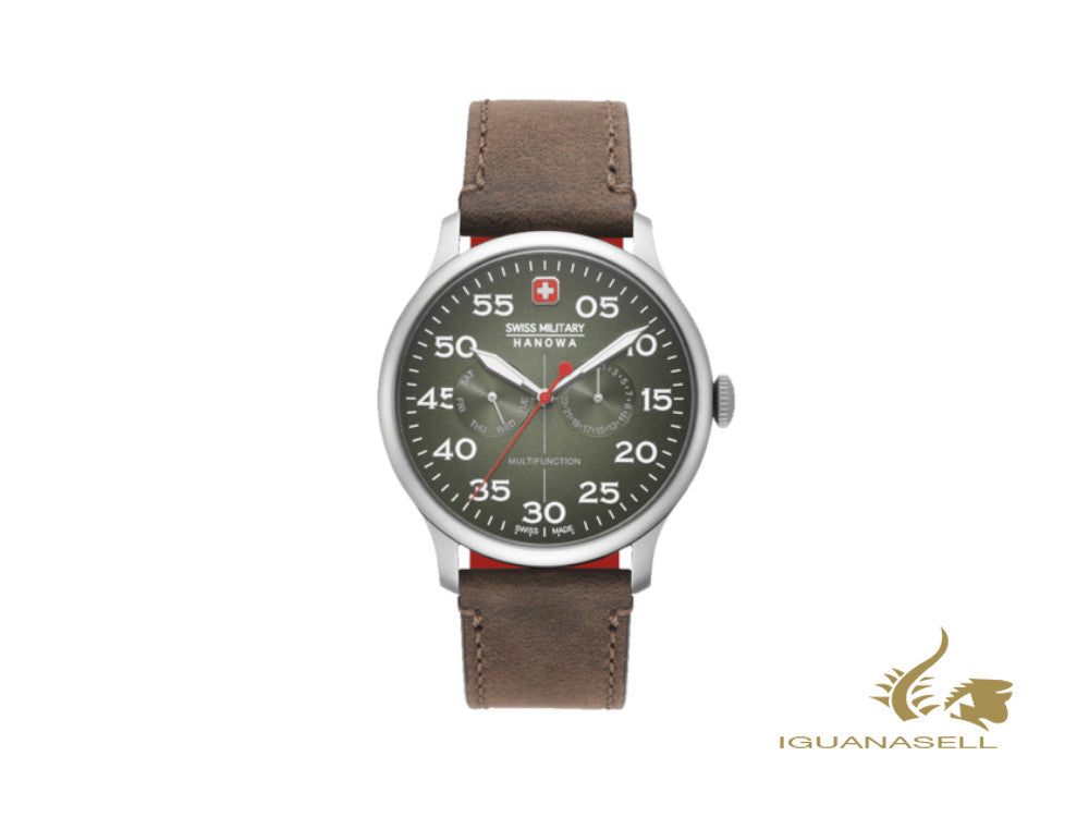 Reloj de Cuarzo Swiss Military Hanowa Active Duty, Verde, 43 mm, 6-4335.04.006