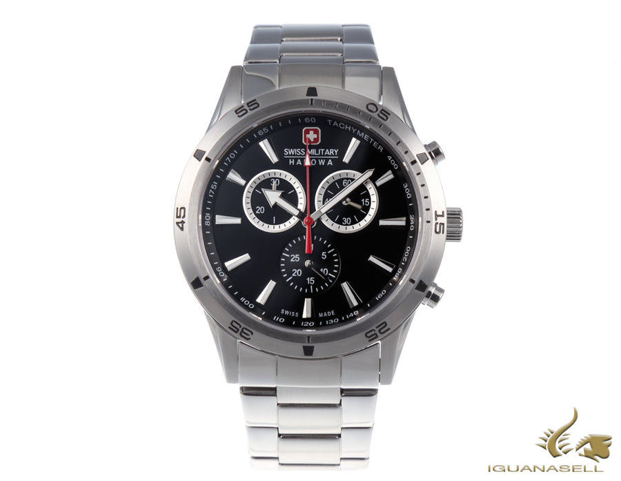 Set Swiss Military Hanowa Challenge Opportunity, Negro, 42 mm, 6-8041.04.007