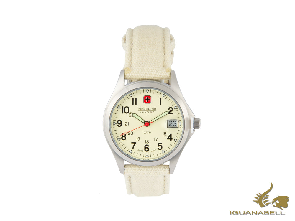 Reloj de Cuarzo Swiss Military Hanowa Conquest, Blanco, 6-4254.04.002