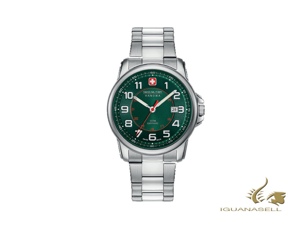 Reloj de Cuarzo Swiss Military Hanowa Swiss Grenadier, 43mm, 6-5330.04.006