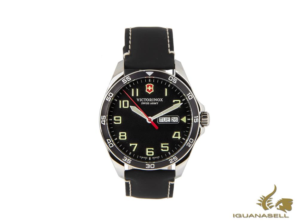 Reloj de Cuarzo Victorinox Fieldforce, Negro, 42 mm, V241846