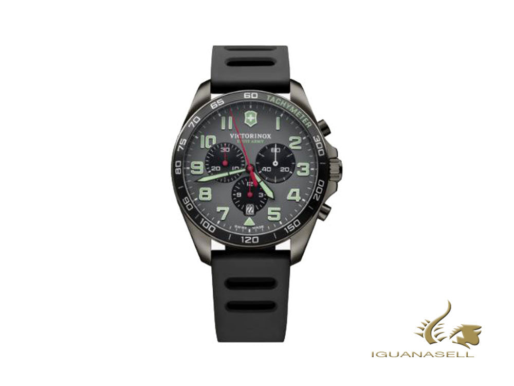 Reloj de Cuarzo Victorinox Fieldforce Sport Chrono, Gris, 42 mm, V241891