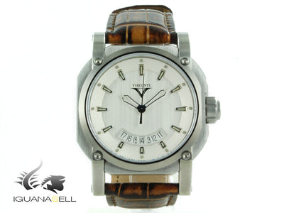 Reloj Automático Visconti Earth W101 Up to Date Elegance Automatic, E. Limitada