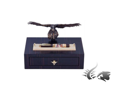 Roller Visconti The Falconier Limited Edition, Cuero, Adornos en oro, 757RL01