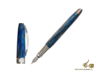 Pluma Estilográfica Visconti Van Gogh Starry Night, Resina, 78318A10P
