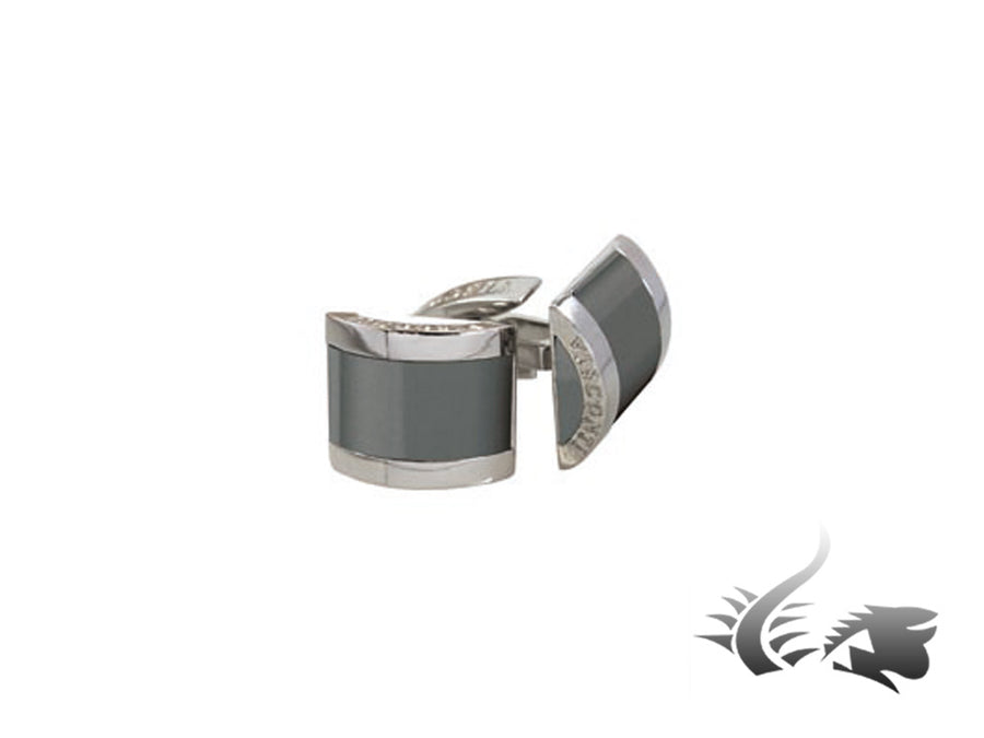 Gemelos Visconti Watch Silver Shadow, Aluminio, Paladio, Gris, 980C062