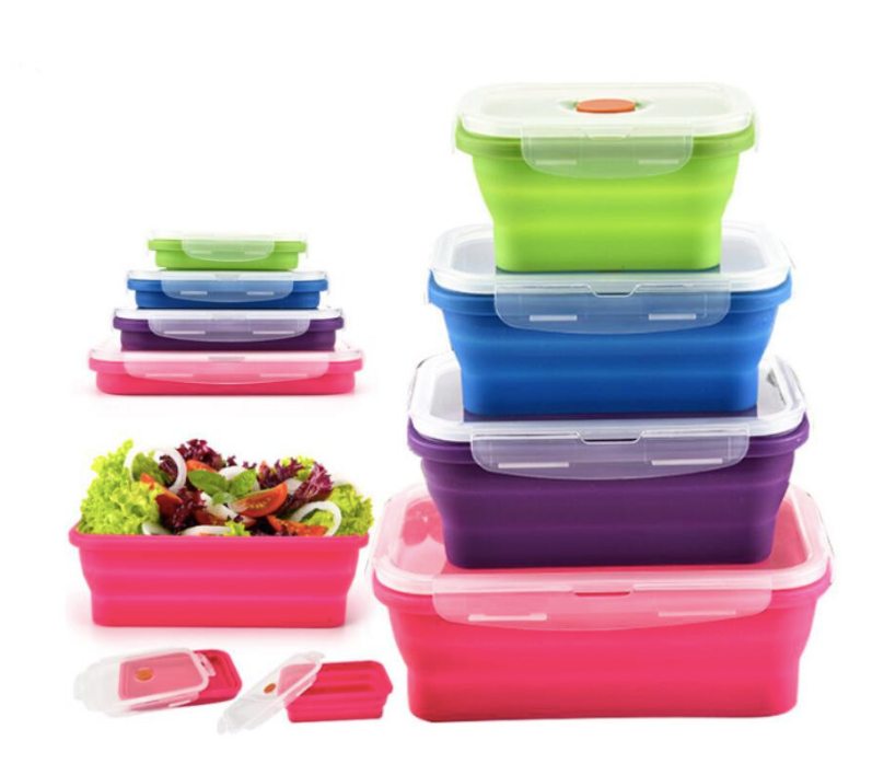 Collapsable Bento Box Set