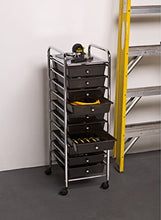 10-Drawer Storage Cart