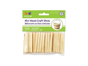 150 Mini Craft Sticks