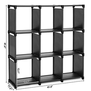 9 Cube Storage Shelves