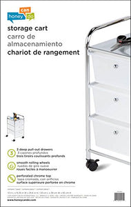 3-Drawer Storage Cart