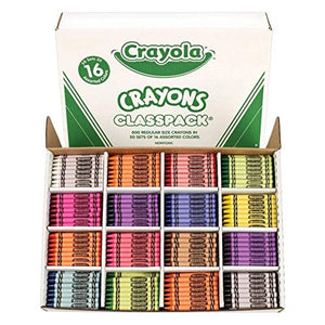 800 Regular Crayons