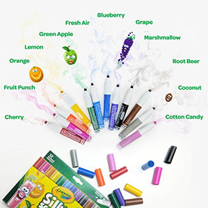 12 Scented Markers