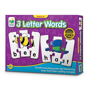 3 Letter Word Puzzles