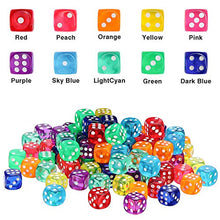 100 Colored Dice