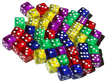 50 Colored Dice