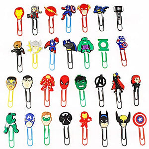 Superhero Paperclips