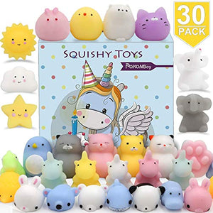 30 Mini Animal Squishies