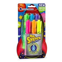 6 Neon Scented Markers