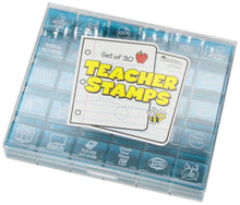 30 Teacher Stamps