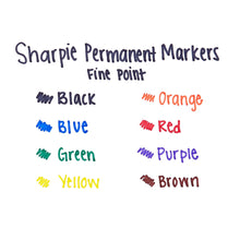 8 Permanent Markers
