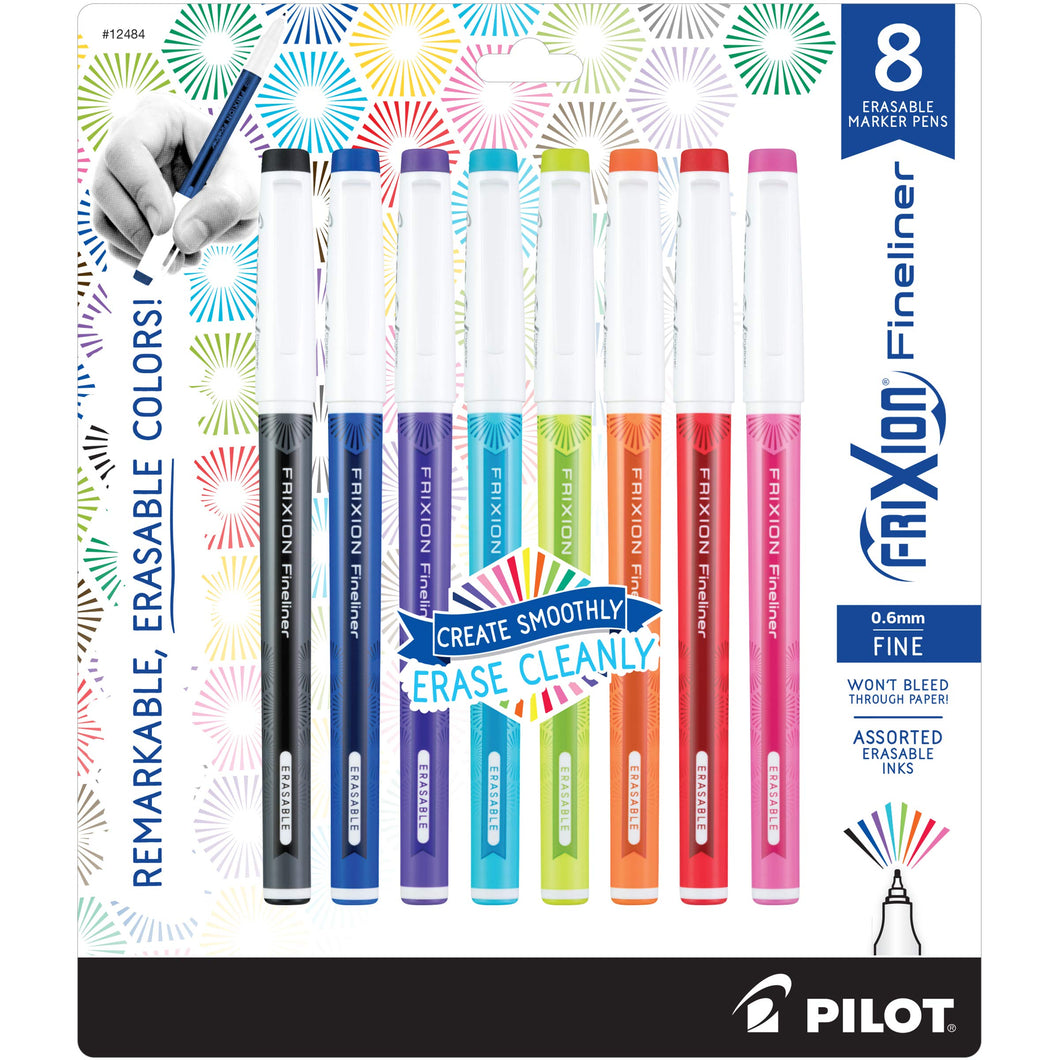 8 Erasable Pens