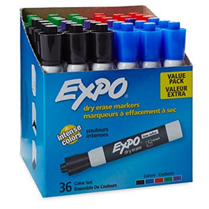 36 Dry Erase Markers
