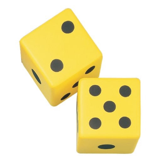 6 in. Foam Dice