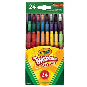 24 Twistable Crayons