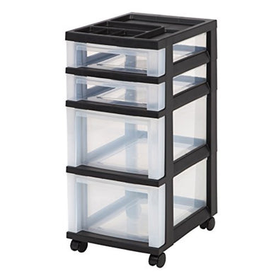 4-Drawer Storage Cart