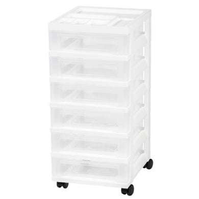 6-Drawer Storage Cart