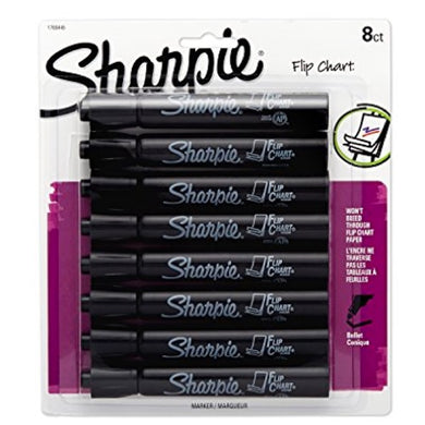 8 Flip Chart Markers