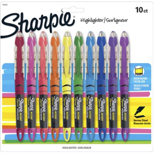 10 Color Highlighters