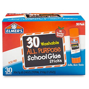 30 Glue Sticks