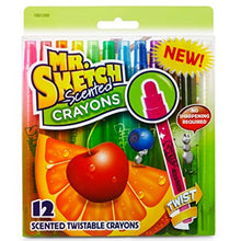 12 Scented Crayons