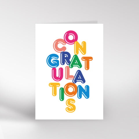 Dicky Bird Congratulations Card