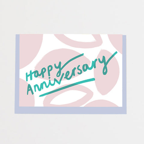 Alison Hardcastle Happy Anniversary Card