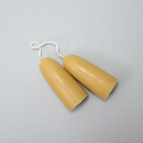 Stubby Beeswax Candles