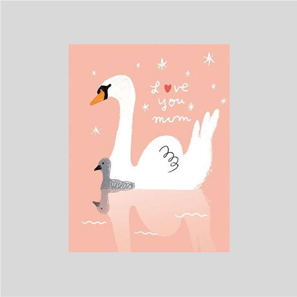 Carolyn Suzuki Swan Mother's Day Card