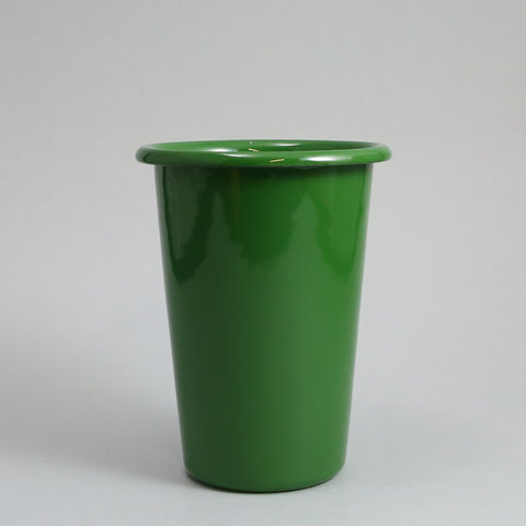 Large Forest Green Enamel Beaker