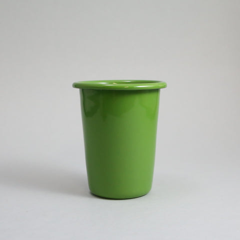 Small Apple Green Enamel Beaker