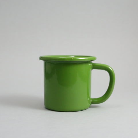 Small Apple Green Enamel Mug