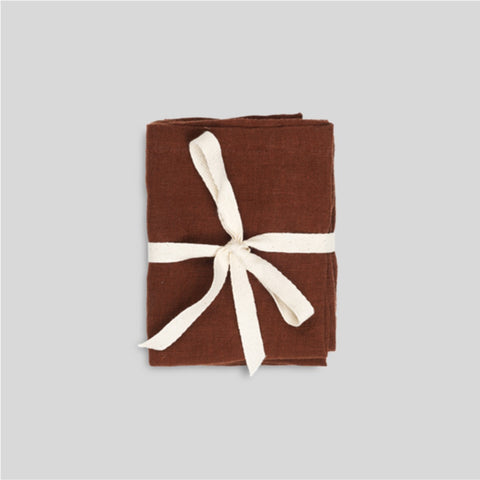 Ferm Living Linen Napkins Set of 2 - Cinnamon