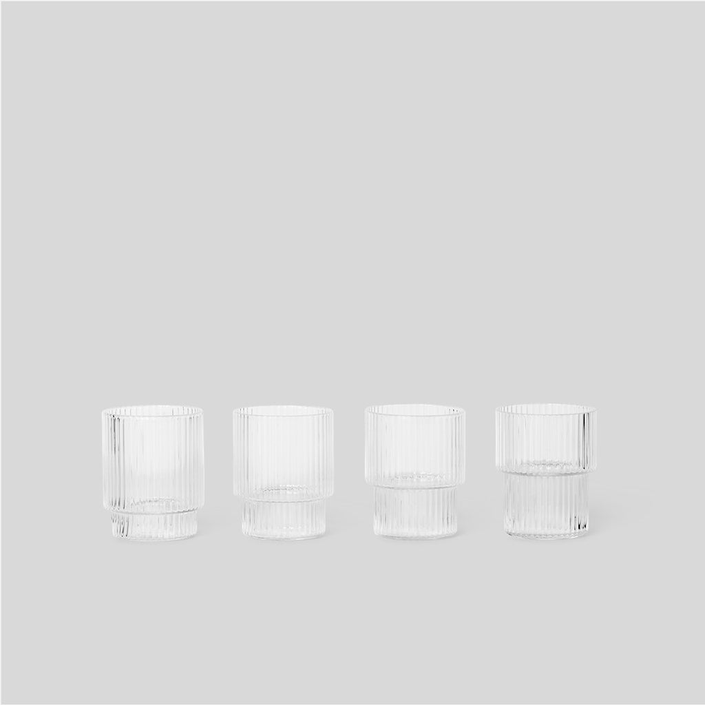 Ferm Living Ripple Glasses