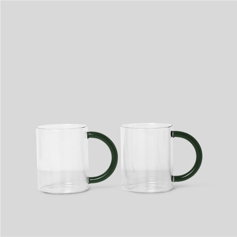 Ferm Living Still Mugs - Clear