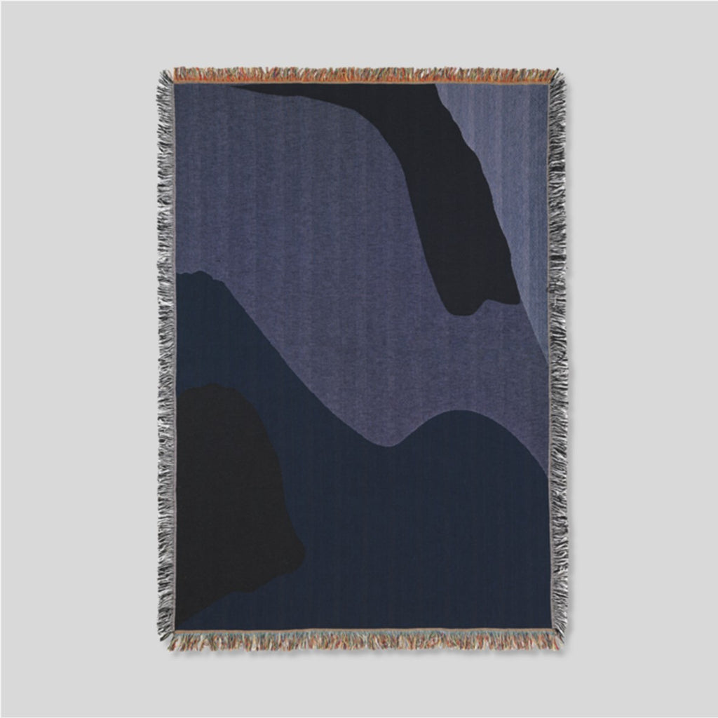 Ferm Living Vista Blanket Blue